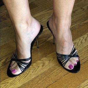 Sexy BEBE Slip On Heels